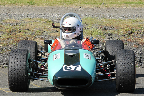 Al Murray's Brabham BT21 Racecar, Number 67