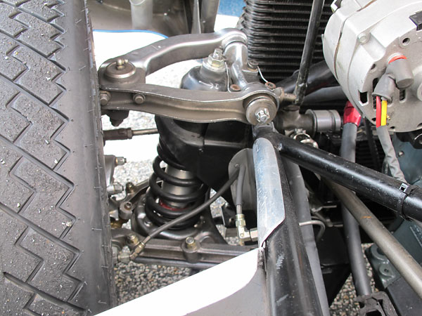 KONI telescoping shock absorbers.
