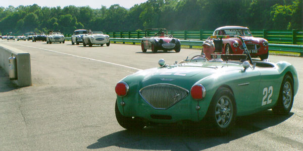 NOJ 391: Bill Thumel's Austin Healey 100
