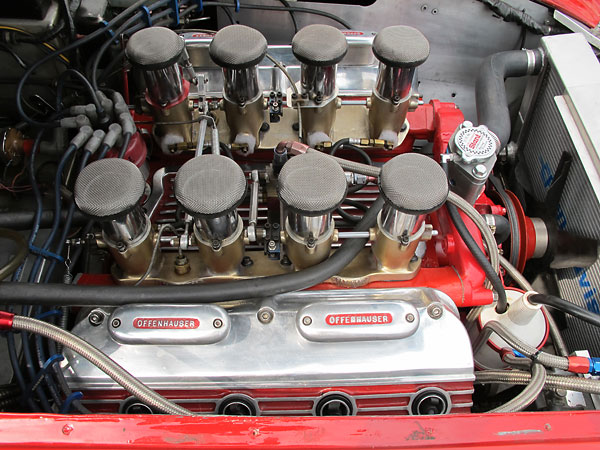 Hilborn fuel injection systems aren't recommended for engines that must perform well at low rpm or part throttle.