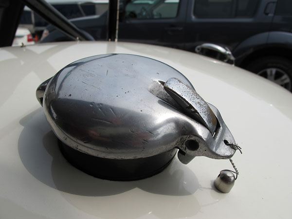 This style of fuel filler cap was used on Italian cars of the SIATA marque.