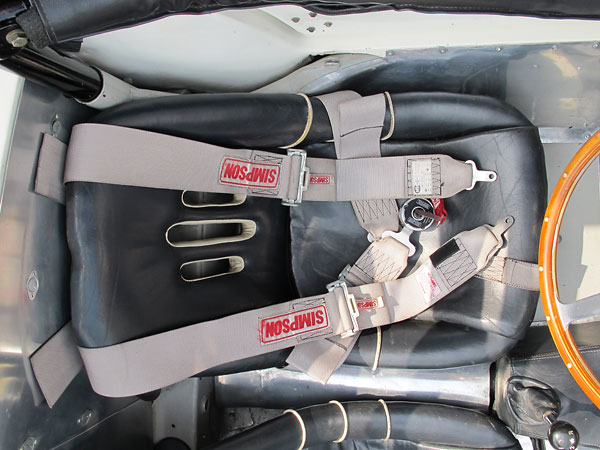 Simpson 5-point cam-loc safety harness.