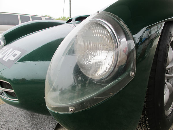 Perspex transparent headlight fairings were a very progressive idea for a 1959 model car!