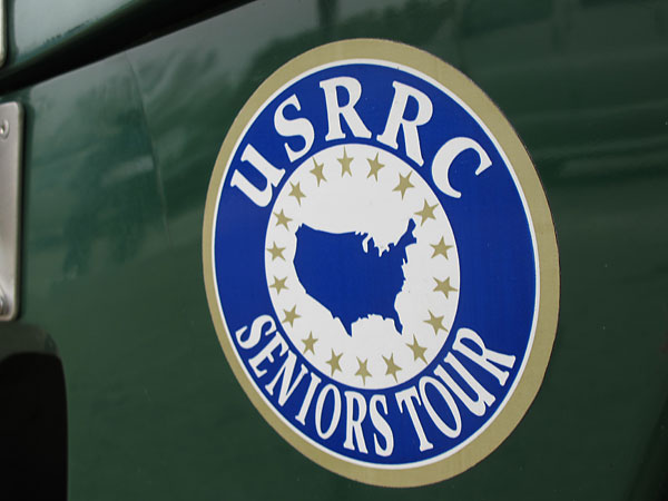 USRRC Seniors Tour decal.
