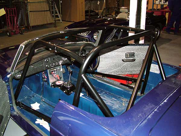 six point MGB roll cage