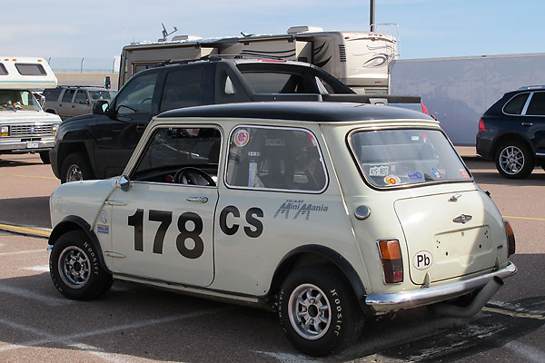 Mini Cooper S Mk2 rear window