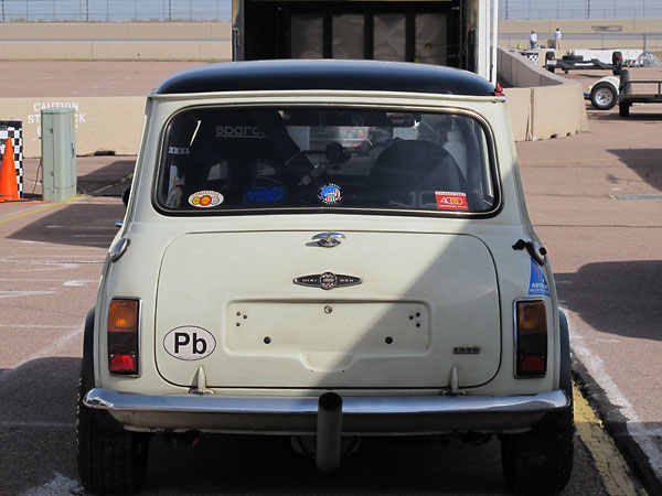 One of the most obvious changes to Austin's Mini Cooper S for 1968 was a swap to larger, rectangular taillamps.
