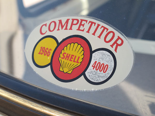 Competitor: 1966 Shell 4000