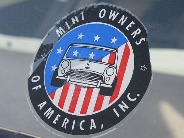 Mini Owners of America, Inc.