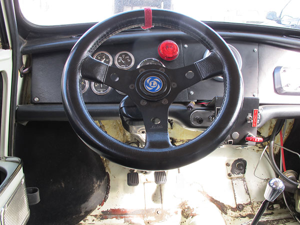 Luisi steering wheel.