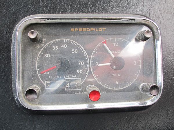 Halda SpeedPilot is a precision mechanical timekeeping device.