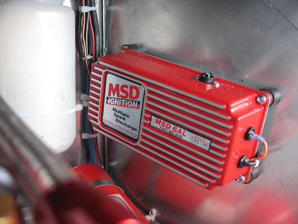 MSD6AL capacitive discharge ignition system.
