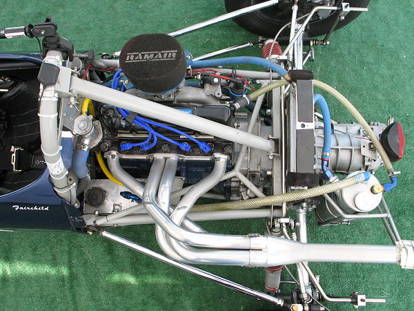 1.6L Ford four-cylinder engine, built by Quicksilver RacEngines.