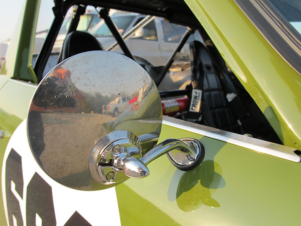 Side view mirror.