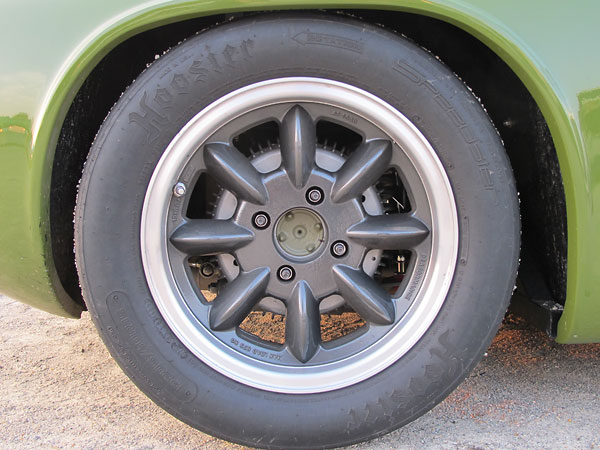 Hoosier Speedster P205/60R15 radial tires.