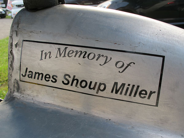 In Memory of James Shoup Miller
