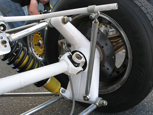The core of a solid anti-sway bar adds very little to its torsional stiffness, so it makes excellent sense to use tubing instead.