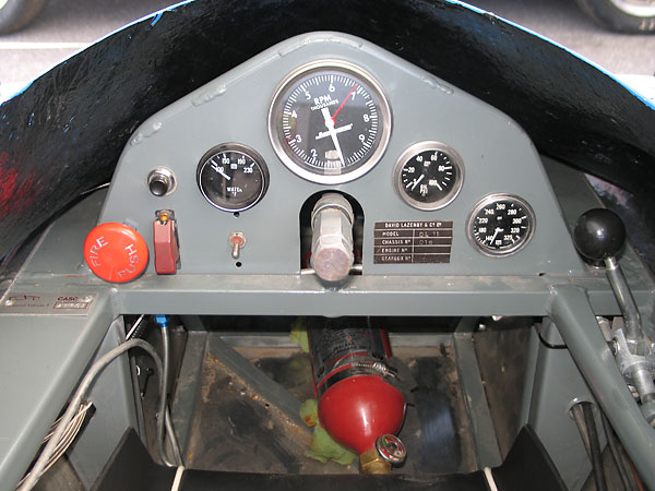 Jones mechanical tachometer (0-10000rpm).