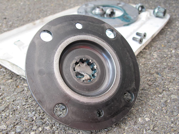 Winner's Circle MG Midget axle shafts and double-bearing hub assemblies.