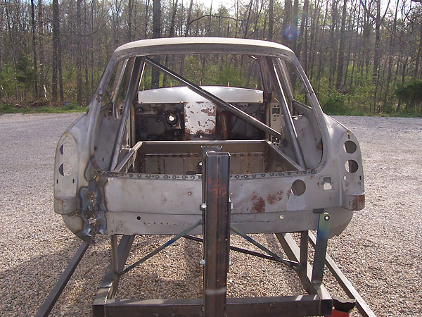 rotisserie: through rear hatch