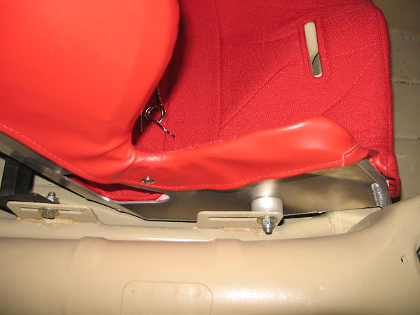 Seat mounting features