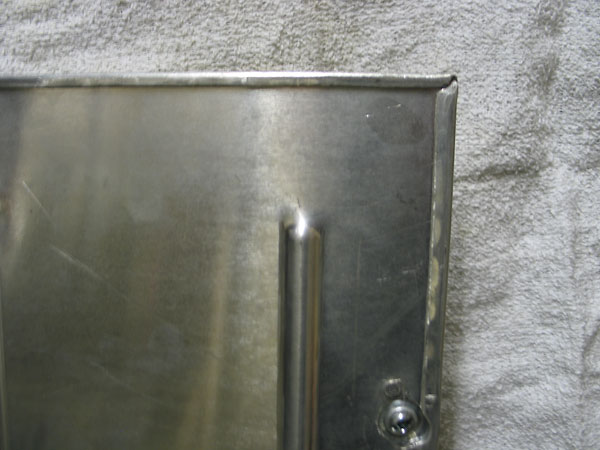detail-view of the fuel cell cover