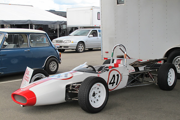 Jeff Snook's Alexis Mk14 Formula Ford Race Car, Number 41