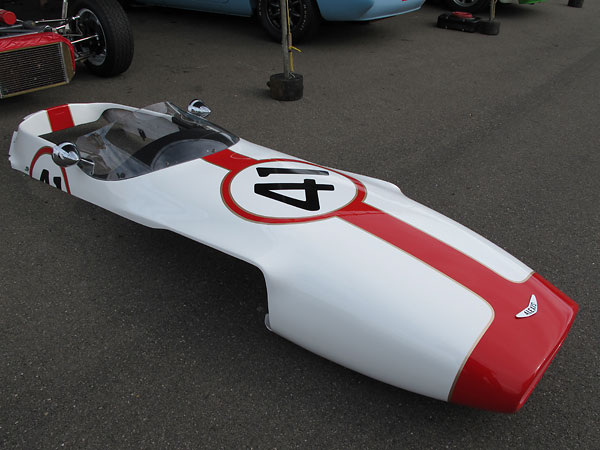 Alexis Formula Ford body panels from Ben Beasley of Ohio