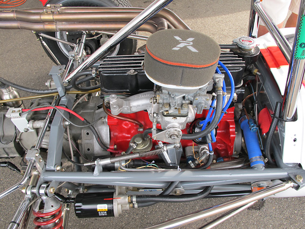 Formula Ford rules tightly restrict alterations of engine internals.