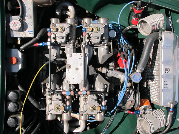 Rover 3.5L engine built by Lee Hurley at HESCO in Birmingham Alabama.