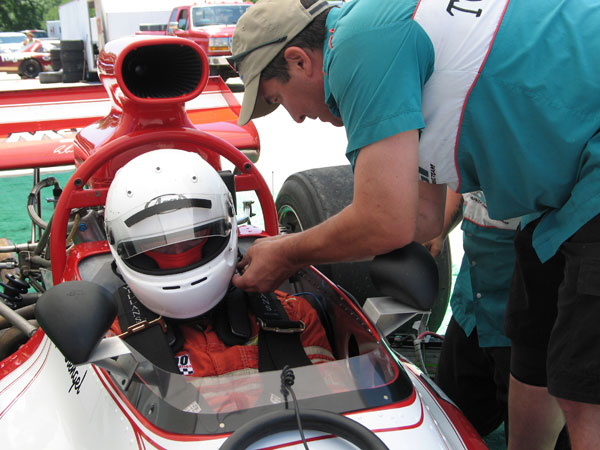 Chris Schneider and his staff at Executive Auto Sport Inc. help Jim Stengel get on track.
