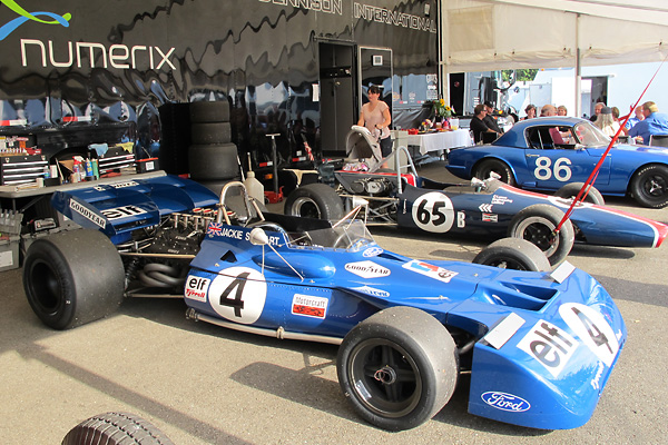 When Dunlop exited F1, Tyrrell switched to Goodyear tires.
