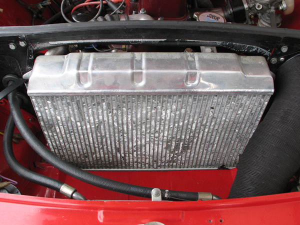Cambridge Motorsport aluminum radiator.