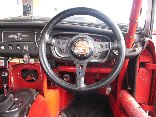 Moto Lita steering wheel.