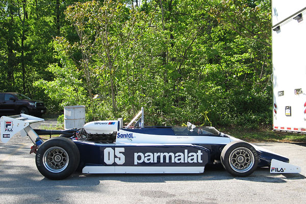 In 1982, Nelson Piquet and Riccardo Patrese drove 1.5L turbocharged BMW powered Brabham BT50 racecars.