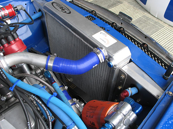 C&R custom aluminum radiator.
