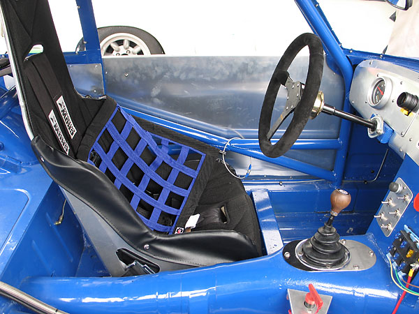 Kirkey aluminum racing seat (model 41700) weighs 12.45#.