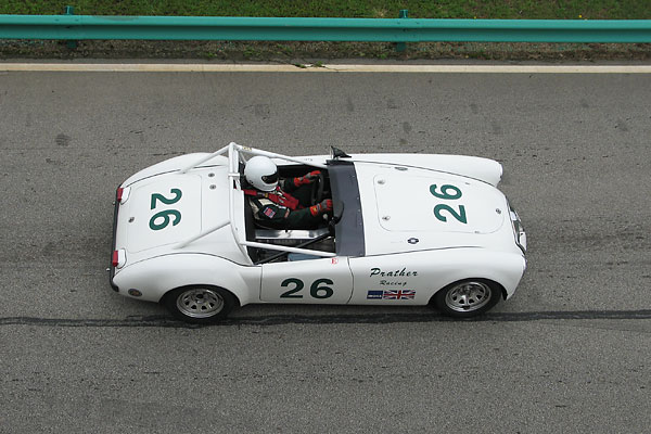 Kent Prather's MGA Race Car, Number 26