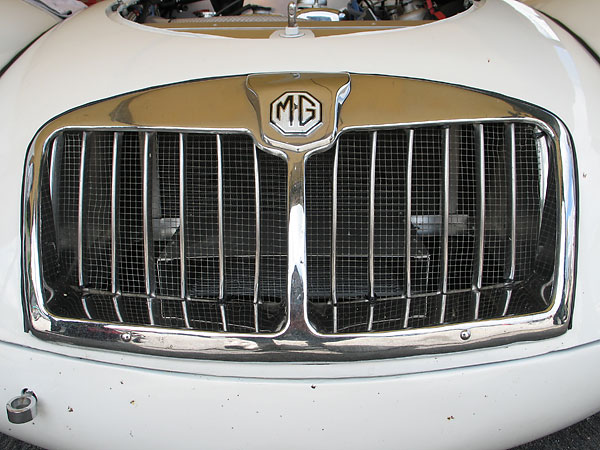 Modified MGA grille.