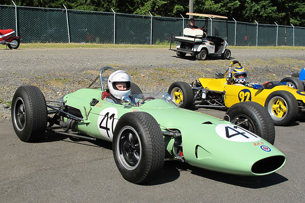 Kurt DelBene's 1964 B.R.P. (BRP-BRM) Grand Prix Race Car