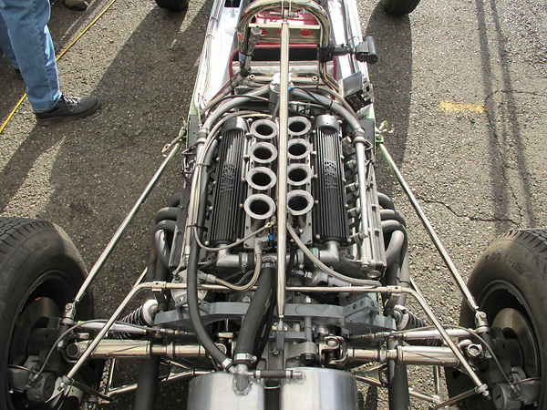 BRM B56 1.5L V8 engine, introduced in October 1961.