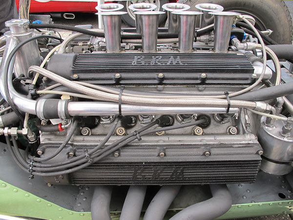 The BRP engine also featured a single plane crank.