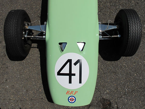 Dunlop was the dominant supplier of Formula One tires ithrough this car's era.