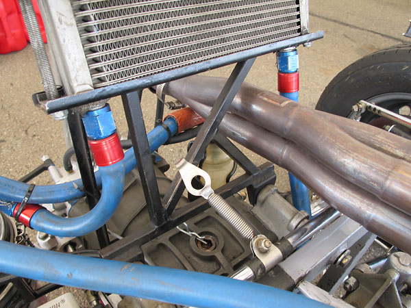 13-row oil cooler.