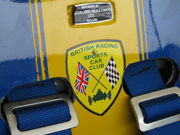 Bodywork by Specialized Mouldings - British Racing and Sports Car Club