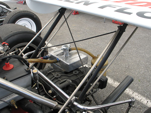 Rear wings are most effective when mounted far rearward.