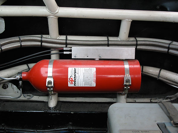 Firecharger fire suppression system