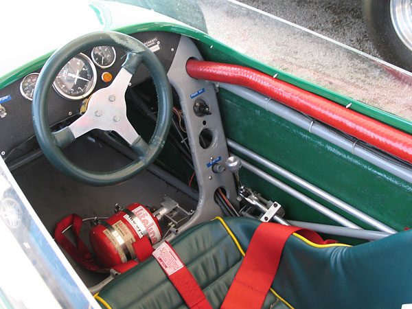 Lotus used green gelcoat when they made the Lotus 18's fiberglass body panels.