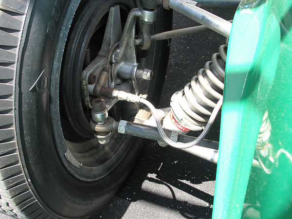 Steering links originally had conventional tie rod ends.
