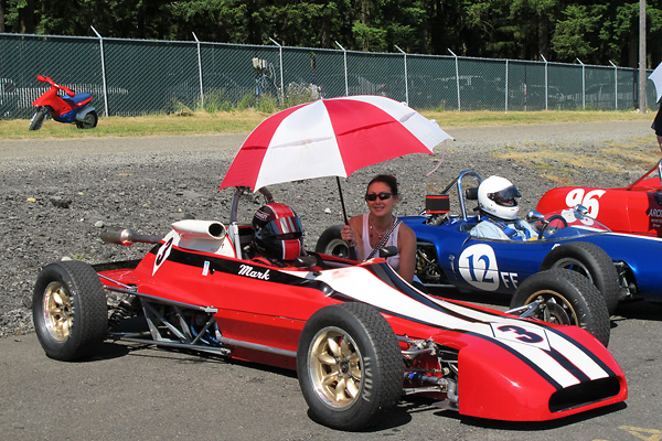 Mark Weatherup's 1979 Crossle 35F Formula Ford Race Car